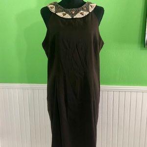 Kim Rogers Dress w/ beautiful beaded neckline- 18